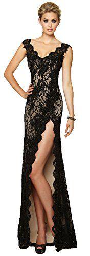 Zrdress Black High Split Long Lace Maxi Evening Dresses for Women Formal Zrdress http://www.amazon.com/dp/B013WOBKNQ/ref=cm_sw_r_pi_dp_P6gkwb1P9GVXJ