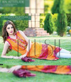 Plush Embroidered Kurtis Eid Collection by Riaz Arts EK_33