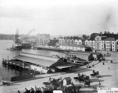 Circular Quay 1892 | The Dictionary of Sydney