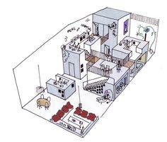Mark Koehler Architects | House like a Village [concept sketch] | 2010 | Amsterdam
