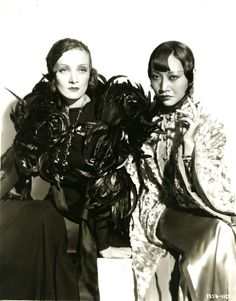 Marlene Dietrich and Anna May Wong in Shanghai Express