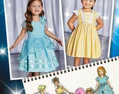Simplicity Pattern 8062 Toddlers' and Child's by GGselections