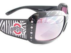 Ohio State Buckeyes Zebra Sunglasses