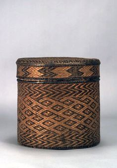 Basket collected In Portuguese West Africa (Loanda Town, Angola/Zaire) Traditional Baskets, Traditional Art, African Tribes, African Art, Decorative Objects, Decorative Accessories, Sisal, Contemporary Baskets, Nantucket Baskets