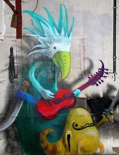 Monzter: Artist Hides Monster Murals Inside Abandoned Buildings In Berlin | Bored Panda