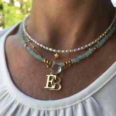 Jewelry Making Quotes collar piedras agata AQUA - Love Biarritz Tassel Jewelry, Cute Jewelry, Jewelry Gifts, Beaded Jewelry, Jewelery, Jewelry Accessories, Handmade Jewelry, Jewelry Necklaces, Beaded Necklace