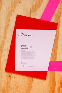 New York Fashion Week Designers - Invitations   Phillip Lim