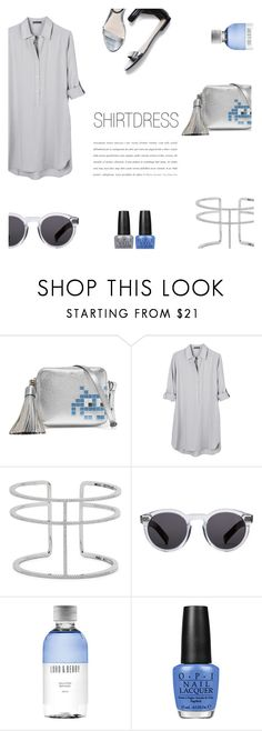 """""""Shirtdress"""" by canvas-moods ❤ liked on Polyvore featuring Anya Hindmarch, United by Blue, APM Monaco, OPI, 3.1 Phillip Lim, Illesteva and Lord & Berry"""