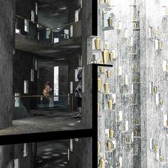 Lund University students envision Malmö silo transformed into a crematorium