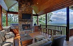 Luxury Cabin Rentals in Blue Ridge, Georgia.  http://www.mountaintopcabinrentals.com