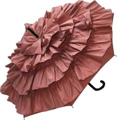 guy de jean pink can can umbrella. Pink Umbrella, Under My Umbrella, Little Miss Dress, Estilo Shabby Chic, Umbrellas Parasols, Vintage Pearls, Rain Wear, Guy, Dusty Rose
