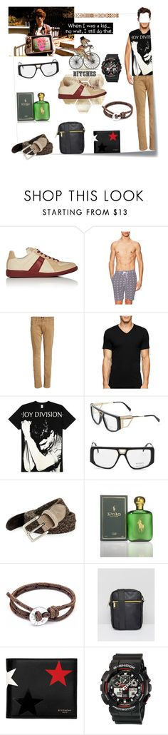 """i still 80s"" by dixiemartel ❤ liked on Polyvore featuring Post-It, Maison Margiela, Trunks, Paige Denim, Calvin Klein, Balmain, Façonnable, Ralph Lauren, Anchor & Crew and Mi-Pac"