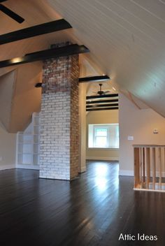 Unbelievable Finished attic office,Attic design mixed media and Berlin attic apartment. Attic Apartment, Attic Rooms, Attic Spaces, Attic Playroom, Apartment Therapy, Apartment Bookshelves, Office Playroom, Office Decor, Attic Office