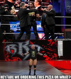 Randy Orton continues to ruin Seth Rollins' life (From our Recap) Gif from wrestling-giffer Wrestling Memes, Watch Wrestling, Randy Orton, Wwe Funny, Bae, Apex Predator, Cm Punk, Daniel Bryan, Olivia Holt