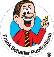The original Frank Schaffer Publications logo based on an animated ...