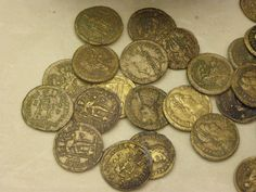 Late Roman golden solidi, 4th-5th century | Flickr - Photo Sharing!