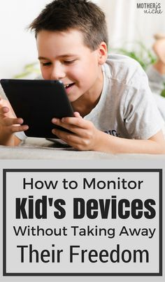 A must read for all us parents raising kids in a very digital era. Monitor Your Kids' Devices Without Taking Away Their Freedom Parenting Styles, Parenting Quotes, Parenting Advice, Internet Safety For Kids, Kids Safety, Cyber Safety, Parental Control, Raising Kids, Teaching Kids