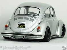 Clean Black n Silver Beetle