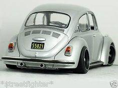 Clean Black n Silver Beetle