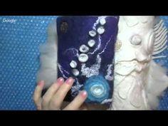 Валяние из шерсти чехлов для предметов - YouTube