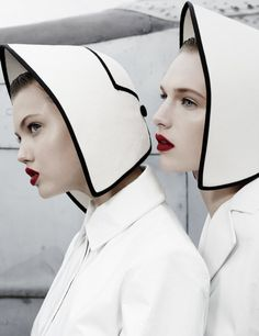 Lindsey Wixson & Ashleigh Good by Emma Summerton for W Magazine November 2013 10