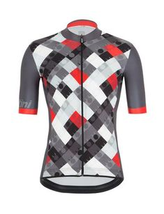 Canari Commuter Cycling Reflective Jersey Mens Small S SM Red Short Sleeve