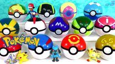 Pokebolas Sorpresa Pokemon Parte 3 Pokeballs o Pokebolas de Colores de V...