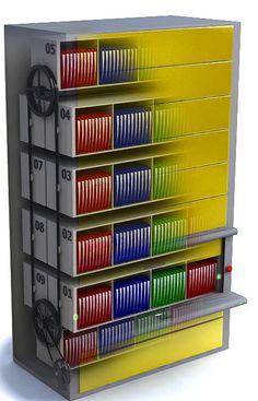 Kardex Remstar Vertical Carousel Storage Garage
