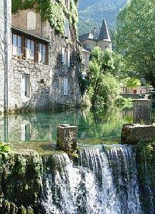 Florac, Languedoc-Roussillon region, France