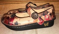 921a69760fff Alegria Paloma FLORAL Mary Janes size 8   38 Pal-526 Shoes by PG Lite