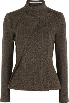 Roland Mouret | Tulkinghorn herringbone tweed jacket