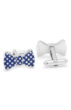 Cufflinks, Inc. Bow Tie Cuff Links available at #Nordstrom