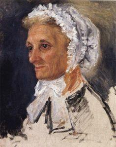Portrait of the Artist's Mother Auguste Renoir Pierre Auguste Renoir, Auguste Rodin, August Renoir, Renoir Paintings, Georges Seurat, Limousin, Manet, Paul Cezanne, Portraits