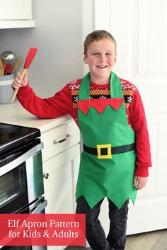 Free Sewing, Sewing Patterns Free, Sewing Tutorials, Baby Sewing, Sewing Hacks, Free Pattern, Sewing Projects, Projects To Try, Christmas Aprons