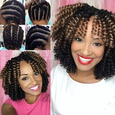 Friday flashback of our CEO& Saniya Curl style starting from our signature pattern, day 1 install, and day 2 separation! Black Girl Braided Hairstyles, Black Girl Braids, Ethnic Hairstyles, Braids For Black Hair, Girls Braids, Diy Crochet Hairstyles, Curly Crochet Hair Styles, Curly Hair Styles, Natural Hair Styles