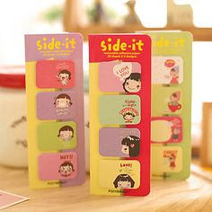 Candy Girl Self-Stick Notes(1 Set) 4954702 2017 – $0.99