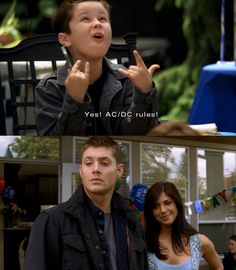 I loved this little kid, and I'm still positive that he's Dean's... No matter what Lisa said...