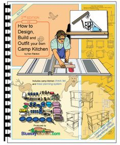 How to Design, Build and Outfit your own Camp Kitchen book cover.