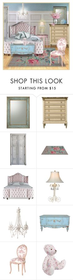 """French Vintage"" by bloodshyft ❤ liked on Polyvore featuring interior, interiors, interior design, home, home decor, interior decorating, John-Richard, Matta, Haute House and Ethan Allen"