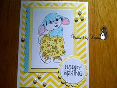Lynnpenguin's Creative Corner: A Bunny Blog Hop at Fitztown, Easter 5, http://www.fitztown.com/easter.html