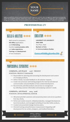 Top Resumes Templates Extraordinary Resume Formats Resume_Writing On Pinterest