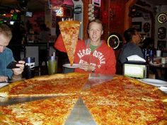 BIGGEST PIZZA EVER SEEN