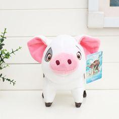 49e89a6f15f Moana Princess Plush Toys 20cm Pua Pepa pink Pig Stuffed dolls for kids  gift