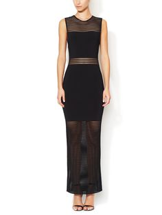 Ainsley Open Knit Maxi Dress by Torn by Ronny Kobo at Gilt