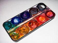 iPhone 5 Case Watercolor Palette