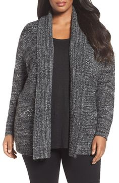 Free shipping and returns on Sejour Shawl Collar Cardigan (Plus Size) at Nordstrom.com. Cozy up for cold winter days in this thick bouclé knit infused with warm wool.