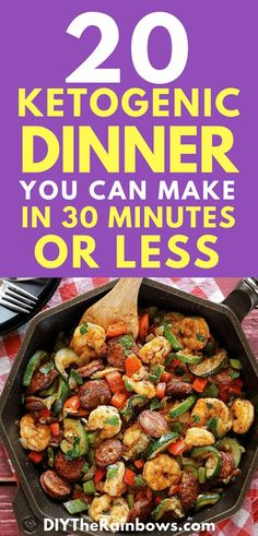 How to carve out time to prepare ketogenic dinners when you are mentally and physically exhausted? Spending only 30 minutes or less to prepare dinners, enjoying yourself, eating delicious meals and you will feel better.