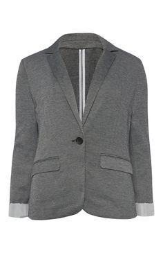 Primark - Grey Textured Unlined Jacket