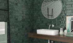 Luxusní barevné obklady série Harlequin se dokonale hodí do koupelny i kuchyně. Obklady nabízíme v lesklém provedení ve formátu 7 x 28 cm. #keramikasoukup #koupelnyodsoukupa #harlequin #luxury #modern #bathroom #koupelnyinspirace #inspirace #inspiration #koupelna Bathroom Lighting, New Homes, Flooring, Ceramics, Mirror, Green, Home Decor, Cover, Furniture
