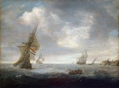 Jan Porcellis - Zeegezicht (1630)